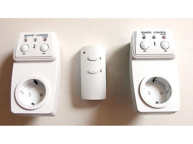 Funkschalter Ein/Aus weiß