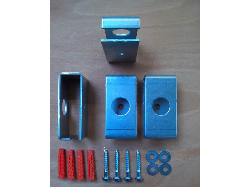 halterung f r deckenheizer ir heizung set 4 st ck f r metall ab 910 watt. Black Bedroom Furniture Sets. Home Design Ideas